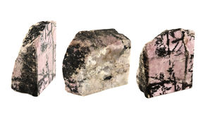 Rhodonite Royalty Free Stock Photography