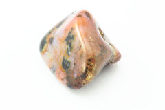 RHODONITE Birth Stone. The Picture of Birth Stone is made in light box with 7 light sources 50 mm/f 2.8 and 20 mm extension tube. It has all positives and Royalty Free Stock Images
