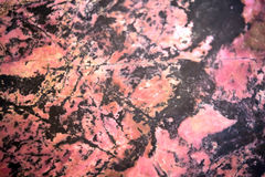 Rhodonite mineral background Stock Photos