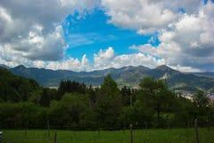 Rhodope горы глубоко ослабляет Стоковая Фотография