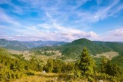 Rhodope berg i Bulgarien arkivbilder