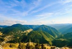 Rhodope berg i Bulgarien royaltyfria foton