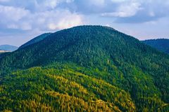 Rhodope berg i Bulgarien arkivbild