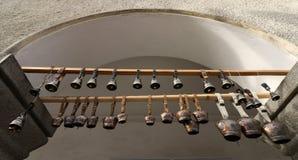 Rhodope klockor arkivbilder
