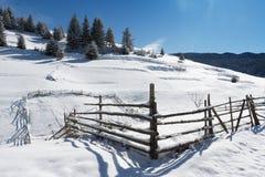 Rhodope mountain winter Royalty Free Stock Image