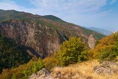 Rhodope Mountains in Autumn. Landscape of autumn Rhodope mountains, Bulgaria Stock Photos