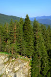 Rhodope Mountains thrill seekers stock images