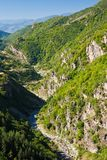 Rhodope River Valley Royalty Free Stock Photos