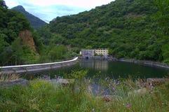 Rhodopes水坝 免版税库存照片