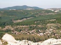 Rhodopes orientale, Bulgaria Immagine Stock