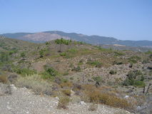 Rhodos风景 库存照片