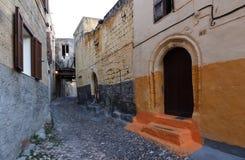 Rhodos, alte Stadt Stockfotos