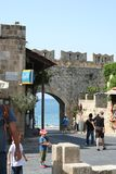 Rhodos City Center Royalty Free Stock Photo