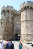 Rhodos Gate stock images