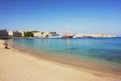 Rhodos, Griechenland Stockfotografie