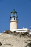 Rhodos - Griekenland - de vuurtoren royalty-vrije stock afbeeldingen