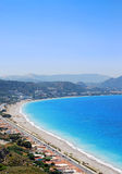 Rhodos-Landschaft Stockfoto