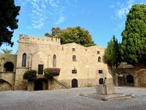 Rhodos Old Town royalty free stock photo