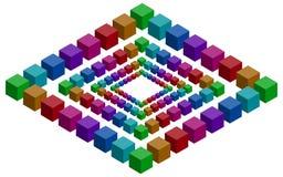 Rhomb幻觉 库存例证