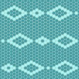 Rhomb beadwork ornament Stock Images