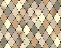 Rhomb pattern Stock Photography