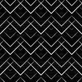 Rhomb pattern. Corner line pattern including seamless sample in swatch panel Stock Image