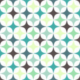 Rhomb pattern. Including seamless sample in swatch panel Stock Photo