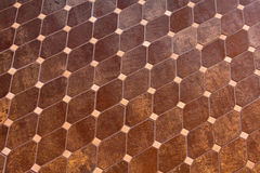 Rhomb tiles Royalty Free Stock Image