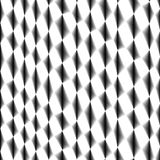 Rhombic cell tissue, netting, abstract black and white  fencing background Royalty Free Stock Photos