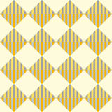 Rhombic pattern Stock Photography