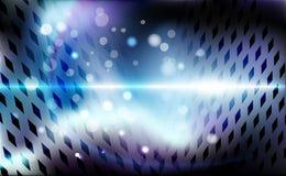 Rhombic roxo do sumário do fundo perfurado Rombo escuro da ilustração violeta do vetor da bandeira Contexto geométrico da textura ilustração royalty free