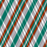Rhombic tartan seamless texture in red different hues Stock Images