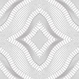 Rhombic textur av konturlinjer Royaltyfri Bild