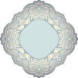 Rhomboid frame. Napkin. Stock Photo