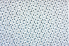 Rhomboid frosty light-blue texture Stock Photo