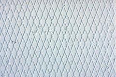 Rhomboid frosty light-blue texture Stock Photo