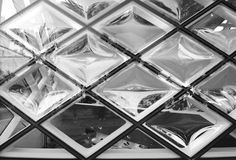 Rhomboid-grid glass texture Royalty Free Stock Photos