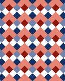 Rhombus 1 do teste padrão Imagem de Stock Royalty Free