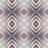Rhombus abstract tribal seamless pattern. Modern stylish texture. Repeating geometric tiles with rhombus. Textile fabric print. Wr Stock Photo