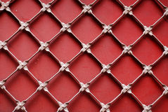 Rhombus abstraction. Red rhombus abstraction background texture Stock Photos