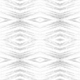 Rhombus abstrakcjonistyczny plemienny bezszwowy wzór nowoczesna konsystencja Wielostrzałowe geometryczne płytki Tekstylnej tkanin Fotografia Stock