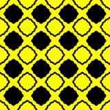 Yellow Argyle Squares Seamless Pattern vector illustration