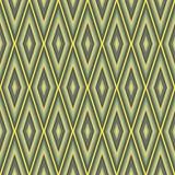 Rhombus background. Rhombus seamless pattern - optical illusion royalty free illustration