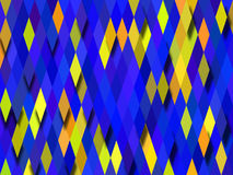 Rhombus background. Color wallpaper made by many rhombuses and shadows Stock Image