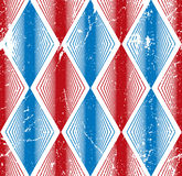 Rhombus bezszwowy wzór, abstrakcjonistyczny geometryczny tafluje tło, Obraz Royalty Free