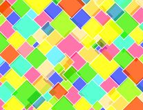 Rhombus city. Rhombus texture vivid colors pattern Royalty Free Illustration