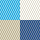 Rhombus on Different Colored Background Royalty Free Stock Photography