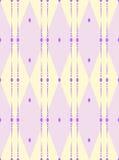 Rhombus inconsútil clásico coloreado del modelo Imagen de archivo libre de regalías
