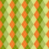 Rhombus inconsútil Día de s de StPatrick ' Fotografía de archivo libre de regalías