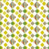 Rhombus multicolores en un fondo blanco stock de ilustración